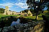 Europa, Grossbritannien, England, North Yorkshire, Aldfield, Fountains Abbey