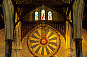Europe, Great Britain, England, Hampshire, Winchester, Winchester Cathedral, King Arthur´s round table