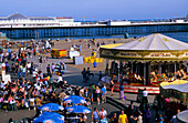 Europe, Great Britain, England, East Sussex, Brighton, Brighton Pier