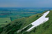 Europe, Great Britain, England, Shropshire, Uffington, White Horse Hill