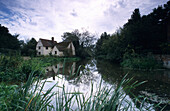 Europe, England, Essex, East Bergholt, Willy Lott's Cottage, Constable Country
