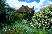 Europe, Great Britain, England, Sissinghurst Castle, [Sissinghurst's garden was created in the 1930s by Vita Sackville-West, poet and gardening writer, and her husband Harold Nicolson, author and diplomat]