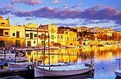 Europe, Spain, Majorca, Portocolom, harbour
