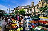 Europe, Spain, Majorca, Llucmajor, market