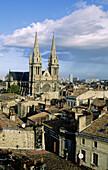 Quartier des Chartrons. City of Bordeaux. Gironde department. Aquitaine Region. France.