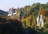 Castle in Ojcow NP Poland