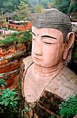 Grand Buddha. Leshan. Sichuan province. China