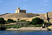Aga Khan Mausoleum. West Bank of the Nile. Aswan. Egypt.