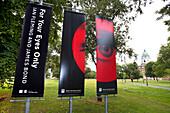 Ian Fleming, James Bond Exhibition, Imperial War Museum, London, England, Britain, United Kingdom