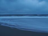 North Sea shoreline in Jutland, Denmark