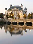 State Theatre in Schwerin, Mecklenburg Western Pomerania, Germany