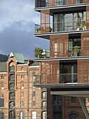 Residential building, HafenCity, Hamburg, Germany