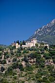 Hügellandschaft, Deia, Mallorca, Balearen, Spanien, Europa