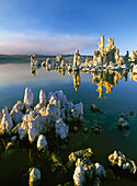 Tufa' towers geological formations along the South shore of Mono Lake. California, USA (2007)