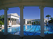 William Randolph Hearst Castle, swimming pool. San Simeon, California, USA (June 2007)