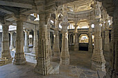 Rajastan. Ranakpur Temple (Jain Religion). India.
