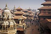 Katmandu Valley, Patan City, Durbar Square. Nepal.