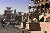 Katmandu Valley, Patan City, Durbar Square. Nepal.