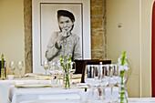 Mathieu Viannay Restaurant interior. Lyon, Rhône-Alpes, France