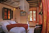 Chateaux et Hotels de France': Carpe Diem Palazzu, at Eccica-Suarella. Bavella suite. Corsica. France