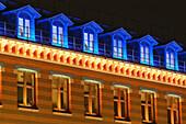 The new lighting of the Manufacture des Tabacs, Université Jean Moulin Lyon 3, Permanent illumination - Lighting designer : Alain Guilhot Manufacture des Tabacs - Lyon - France - 12/2007