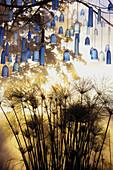 Water Glass Garden' by Fern Alder and David Grisley, Garden festival  'Jardins en Troc', Bitche. Moselle, Lorraine, France