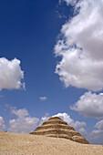 Djoser step pyramid, Saqqara pyramids, Egypt