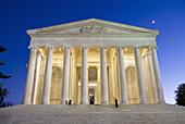 United States, Washington, District of Columbia, Jefferson Memorial.