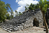 Ball Court in Mayan City of Coba, Mexico