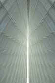CIELING RECEPTION HALL, QUADRACCI PAVILION, ART MUSEUM MILWAUKEE, WISCONSIN USA