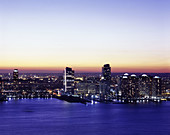 Jersey City financial district, Hudson County, New Jersey, USA