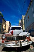 MERCURY EIGHT 1947 AUTOMOBILE CALLE TEMPLETON CERRO ALEGRE VALPARAISO CHILE