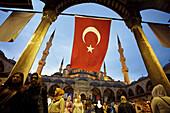 Mosque Sultan Ahmet, Blue Mosque. Istanbul. Turkey