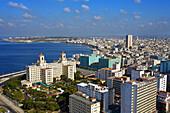 Quartier Vedado with Hotel Nacional, Havana, Cuba