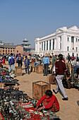 Nepal, Kathmandu, Durbar square. Gaddi Baithak, European style building built during the Rana period