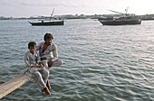 Pakistan, Sind Region, Karachi, West Wharf.