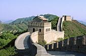 China. Badaling. Great wall. Beijing region