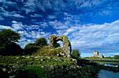 Europe, Great Britain, Ireland, Co. Galway, Kinvarra, Dunguaire Castle