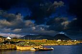 Ballynakill Harbour, Connemara, Co. Galway, Ireland, Europe