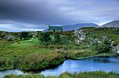 Cottage near Maam Cross, Connemara, Co. Galway, Ireland, Europe