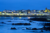 Evening on the coast, Portstewart, Co. Londonderry, Northern Ireland, Great Britain, Europe