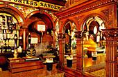 The Crown Liquor Saloon in Great Victoria Street, Belfast, County Antrim, Northern Ireland, United Kingdom, Europe