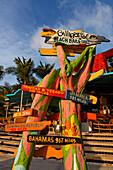 Aruba, Palm Beach, Sunset Bar,Gilligans Bar, Radisson Hotel, West Indies, Dutch Carribean, Central America