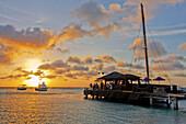 Aruba, Palm Beach, sunset, West Indies, Dutch Carribean, Central America
