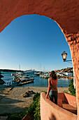 Italy Sardinia Costa Smeralda Porto Cervo harbour