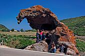 Italy Sardinia Boccia dell Elefante Elephant rock