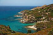 Italy Sardinia  west coast between Alghero and Bosa