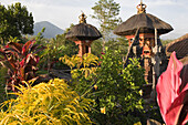 Small temples of a private house, Bali, Indonesia