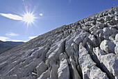 Limestone pavement, Steinernes Meer, Berchtesgaden Range, Salzburg, Austria