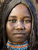 Afar woman. Ethiopia. African tribes
